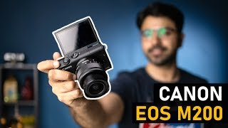 Canon EOS M200 - Best camera under Rs.40,000? (Hindi)