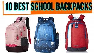 10 Best School Backpak in India with Price