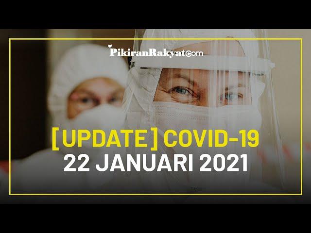 [BREAKING NEWS] Update Kasus Corona Covid-19 di Indonesia per 22 Januari 2021, +13.632 Kasus Positif
