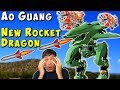 New Flying Rocket Dragon Robot AO GUANG Test Server War Robots Gameplay WR