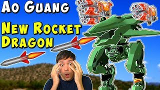 New Flying Rocket Dragon Robot AO GUANG Test Server War Robots Gameplay WR