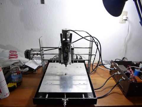 Mi fresadora cnc casera youtube for Mesa fresadora casera