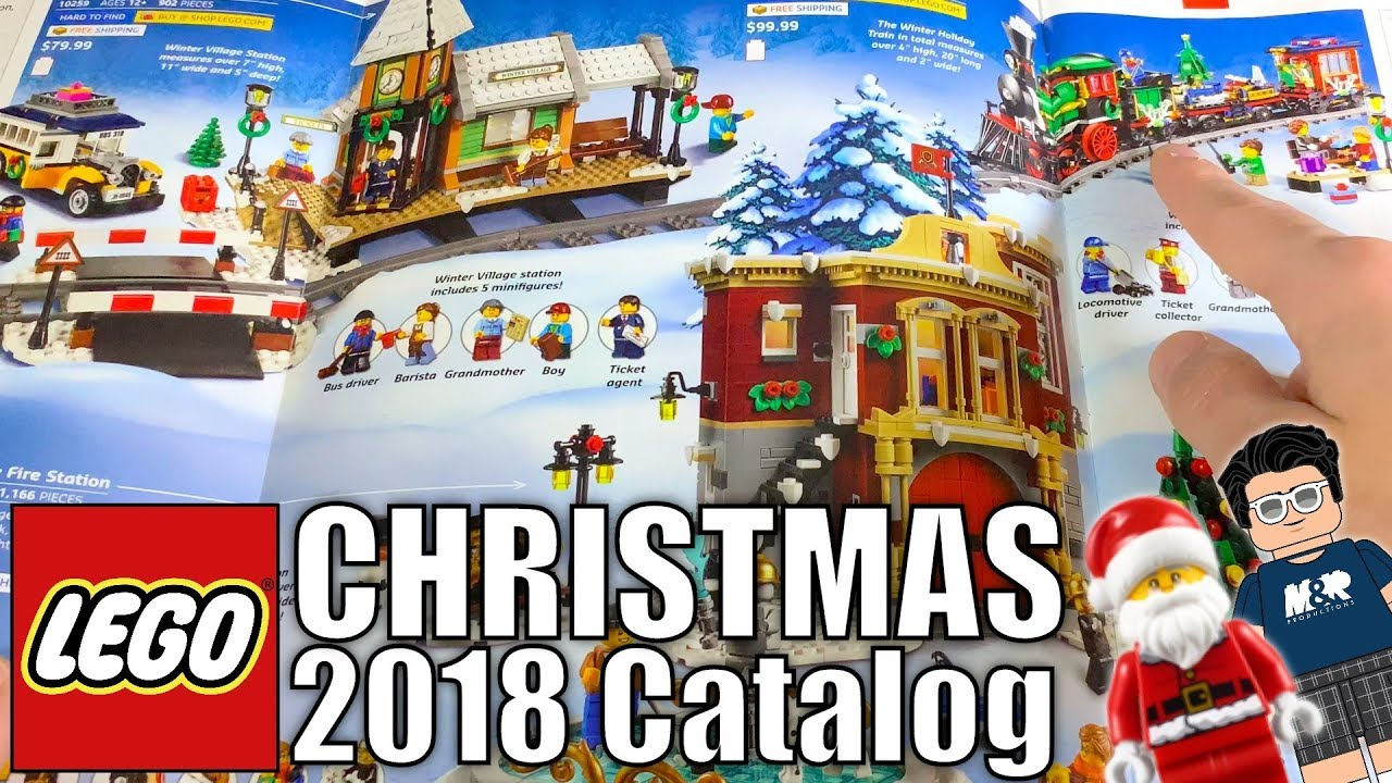 Best LEGO Sets For Christmas 2018! | Christmas 2018 LEGO Catalog with  MandRproductions