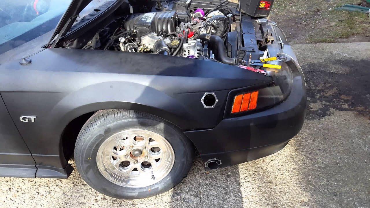 02 Mustang Gt Fender Exhaust