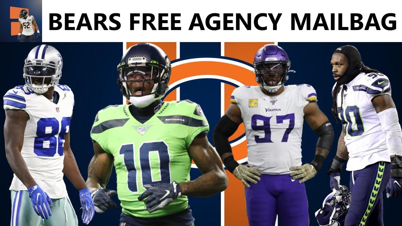Chicago Bears Rumors On Signing Everson Griffen, Jadeveon Clowney, Josh Gordon & Dez Bryant   Q&A