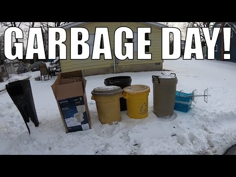 TRASH PICKING In EXTREME Cold For FREE Treasures - Garbage Picking Ep. 112