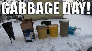 TRASH PICKING In EXTREME Cold For FREE Treasures - Garbage Picking Ep. 112