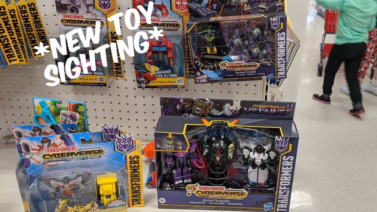 New transformers cyberverse quintesson bumblebee and 2 packs new toy sighting at target - Images of bumblebee from transformers ...