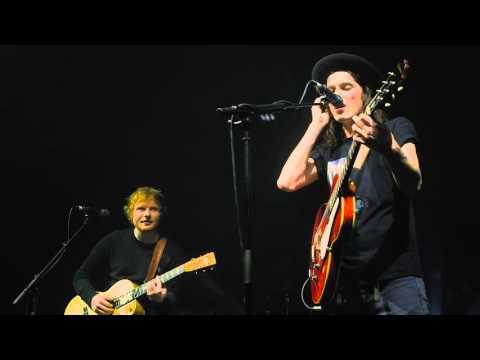 James Bay x Ed Sheeran - Let It Go (Cambridge Corn Exchange)