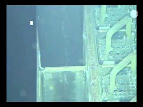 Removal of fuel rods at Fukushima Nuclear Plant, Reactor Building No. 4