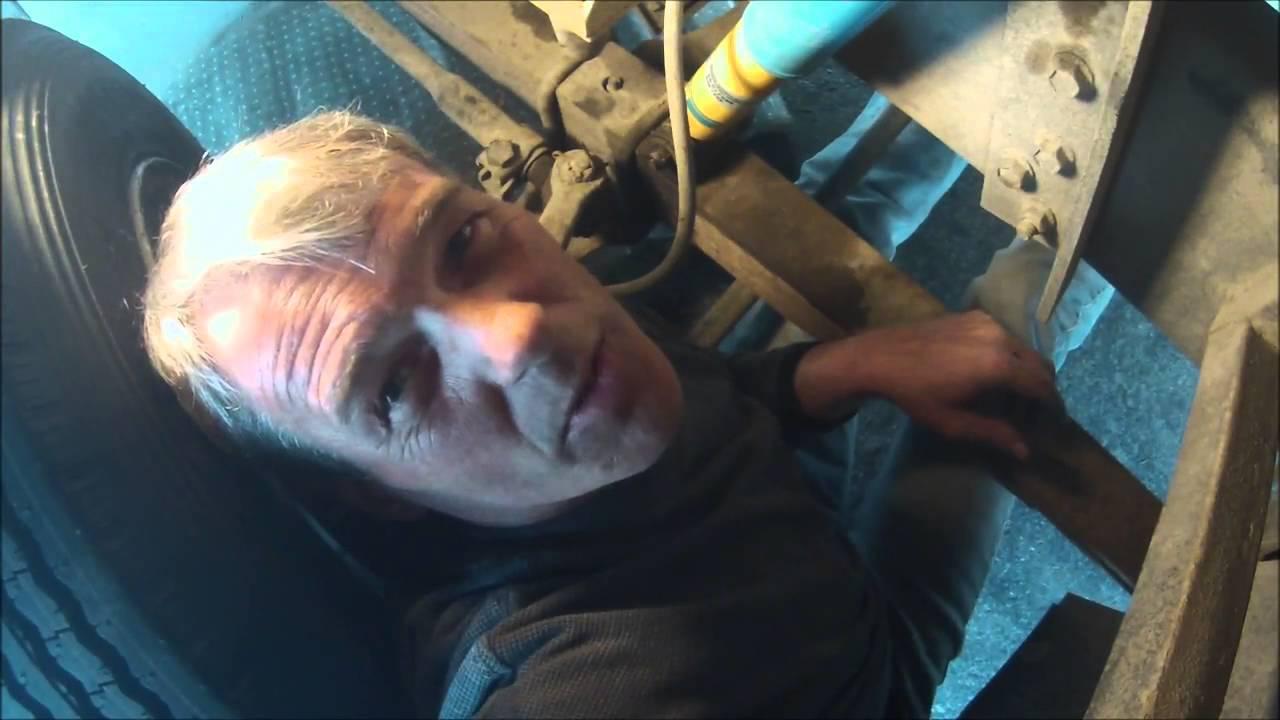 new Bilstein shocks on the motorhome front install