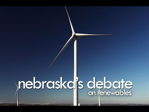 Nebraska Governor's Renewable Wind Debate