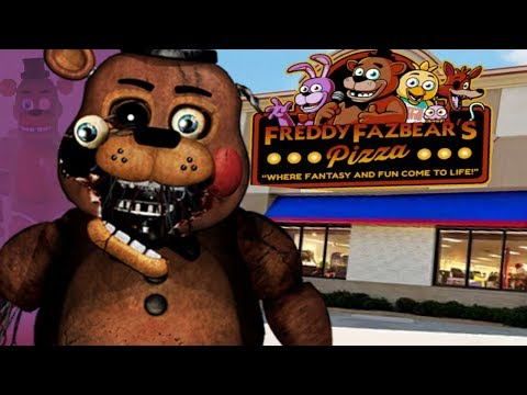 BUILDING OUR OWN FNAF PIZZERIA AND ANIMATRONICS! || Five Nights at Freddys Animatronic Universe