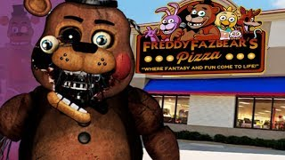 BUILDING OUR OWN FNAF PIZZERIA AND ANIMATRONICS!    Five Nights at Freddys Animatronic Universe