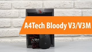 Распаковка A4Tech Bloody V3 / Unboxing A4Tech Bloody V3