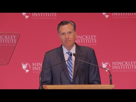 """Romney on Trump: Not releasing tax returns is """"disqualifying"""""""