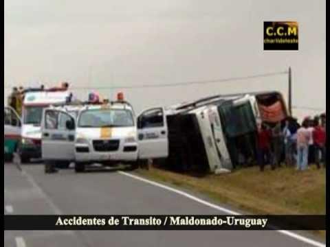 Accidentes de transito en Maldonado Uruguay