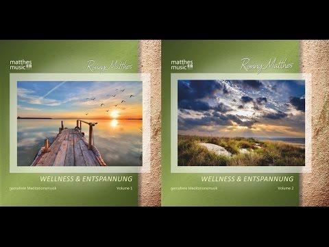 CD: Wellness & Entspannung, Vol. 1 & 2 [Gemafreie Entspannungsmusik für Wellness & Meditation]