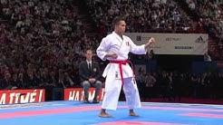 Final Male Kata. Vu Duc Minh Dack of France. 21st WKF World Karate Championships Paris 2012