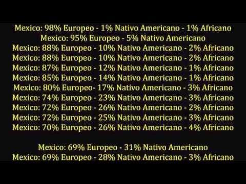 LA VERDAD SOBRE EL ADN MEXICANO / The truth about the Mexican DNA