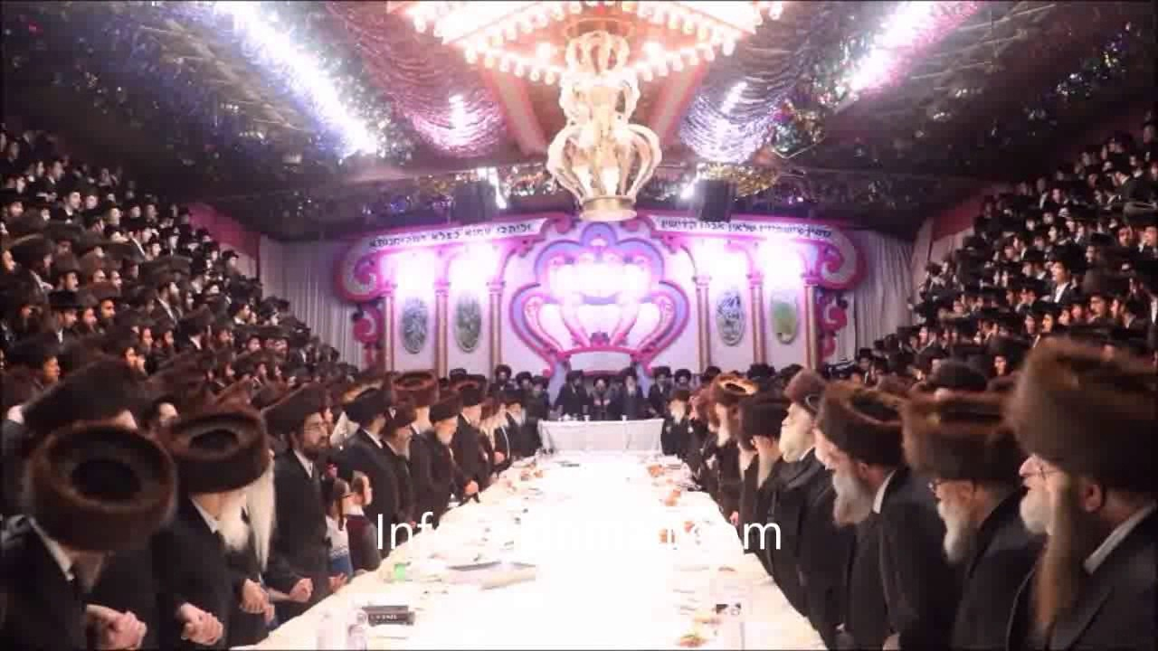 Sukkos 5777 With Bobov 45 Rebbe