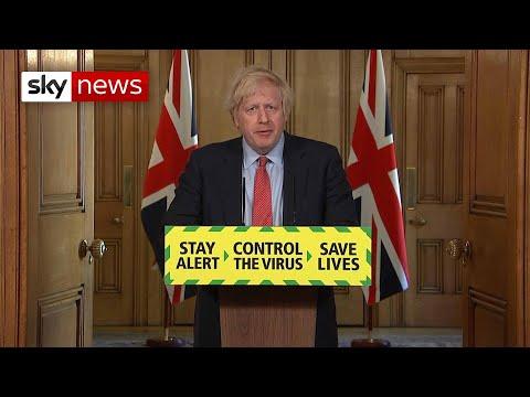 Boris Johnson Announces 'cautious' Lockdown Changes From Monday