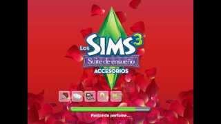 Pantalla de carga Los Sims 3: Suite de ensueño - Accesorios