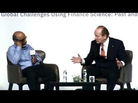 Prof Robert C Merton: Achieving financial stability despite exchange rate volatility