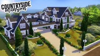 COUNTRYSIDE MANSION | The Sims 4 Speed Build