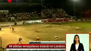 69 atletas representarán a Venezuela en los Juegos Olímpicos Londres 2012
