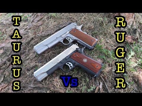 1911 Battle | Ruger vs Taurus!