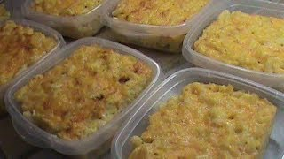 Freezing Cooked Macaroni and Cheese, 14 -16 Servings