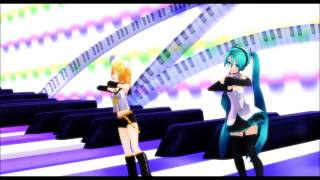 [MMD] Miku and Rin - Happy Synthesizer