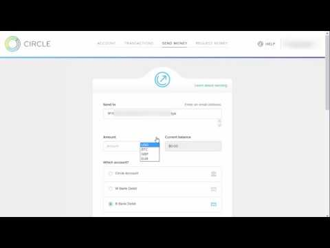 How To Fund Your BlockChain Wallet Using Circle Or Any Other Bitcoin Wallet