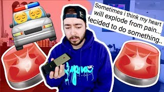 Calling the POLICE on a follower (Not Clickbait)
