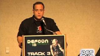 Def Con 18 - Panel - The Law Of Laptop Search And Seizure