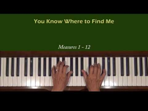 Imogene Heap You Know Where To Find Me Intro Piano Tutorial
