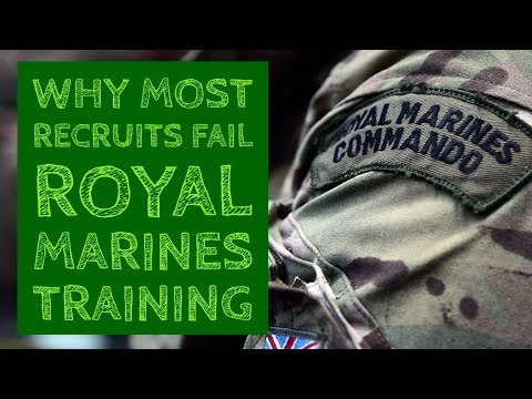 Why Most Recruits Fail Royal Marines Training