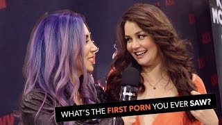 Pornstars on the first porn they ever watched!