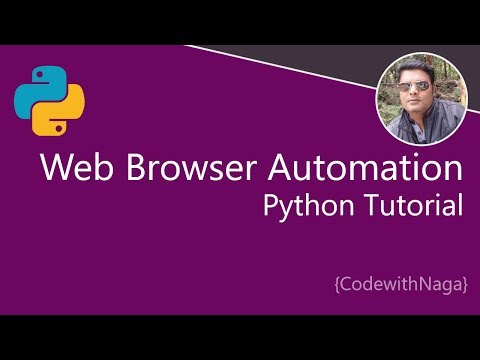 Python Browser Automation Using Selenium | Python Tutorial In Tamil