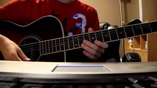 Cn blue Love Light guitar cover