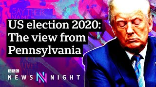 Is President Trump heading for defeat in November? - BBC Newsnight