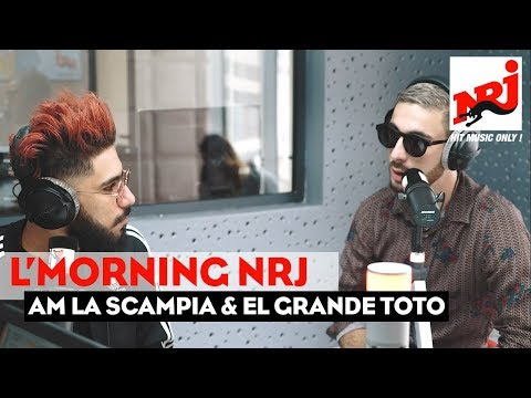 Youtube: AM LA SCAMPIA & EL GRANDE TOTO f L'MORNING NRJ Maroc