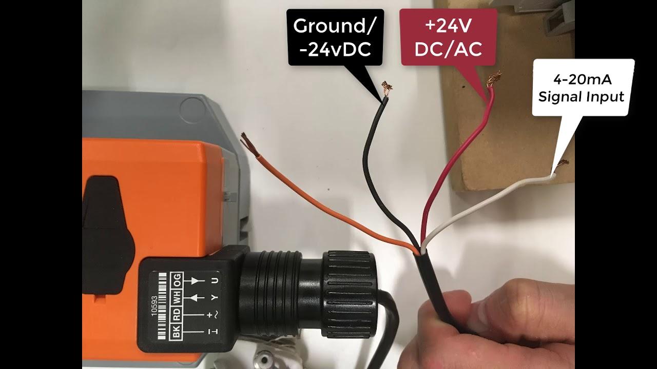 belimo valve wiring [ 1280 x 720 Pixel ]