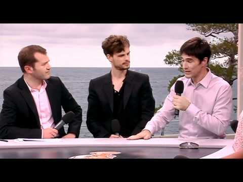 Matthew Gray Gubler & Thomas Gibson Interview (French) - MC Television Festival '11 Part. 1