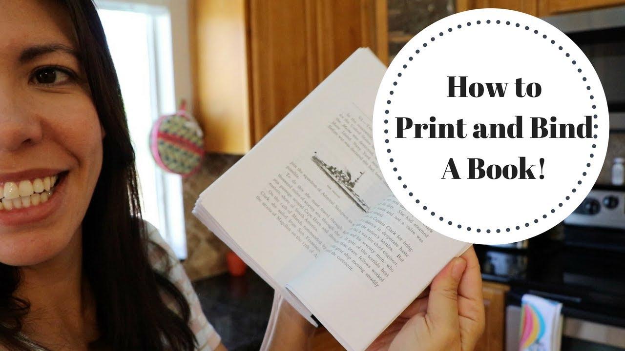 Cách in và làm 1 quyển sách đơn giản