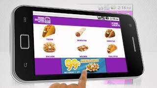 Taco Bell: Mobile Application Store Locator, Menu Description