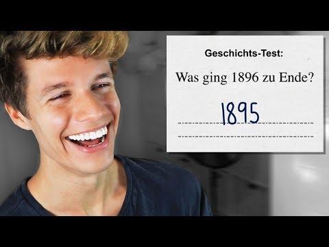 Die LUSTIGSTEN Schülerantworten in TESTS #3