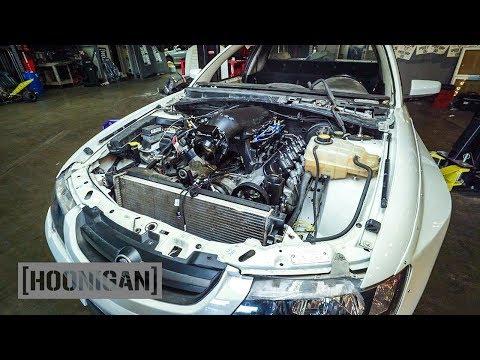 [HOONIGAN] DT 139: Our Holden Ute Gets a Fresh V8