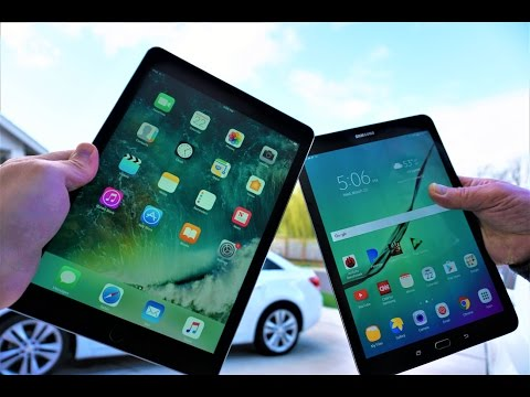 iPad Pro 9.7 VS. Galaxy Tab S2 | Complete Tablet Comparison | Apple Vs. Samsung | Best Tablet